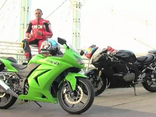 MCN Roadtest:  Kawasaki 250 R Ninja v Hyosung GT250R