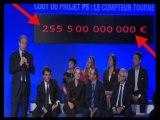 Projet PS : l'UMP dégaine... sa calculette