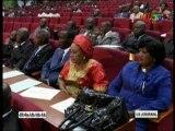 Installation des 36 sénateurs nouvellement élus