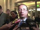 Hollande rencontre à Madrid Jose Luis Zapatero et Lula