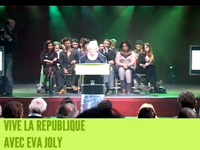 Eva Joly - Vive la République