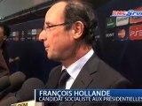 Ligue des Champions : François Hollande, spectateur de Real Madrid / Olympique Lyonnais