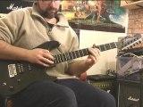 Midnight shred - Jamming on some Satriani, Vai etc