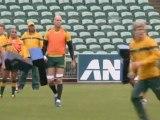 RWC 2011: Jonah Lomu rend visite aux australiens