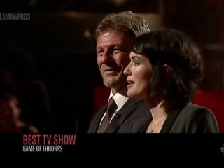 Scream Awards 2011 | Sean Bean et Lena Headey