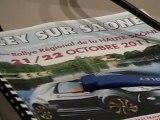 AUTO : LE 32e RALLYE DE LA HAUTE-SAONE A SCEY-SUR-SAONE