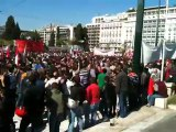 Στους 70.000 οι διαδηλωτές-Άδειος ο προαύλιος χώρος της Βουλής