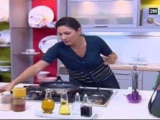 Choumicha Recettes - Cake semoule au raisin sec et orange