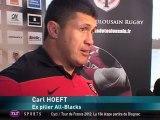 Rugby - Mondial finale J-4 : Rencontre avec Yannick Jauzion