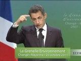 Discours de N. Sarkozy à Changé ( Mayenne)