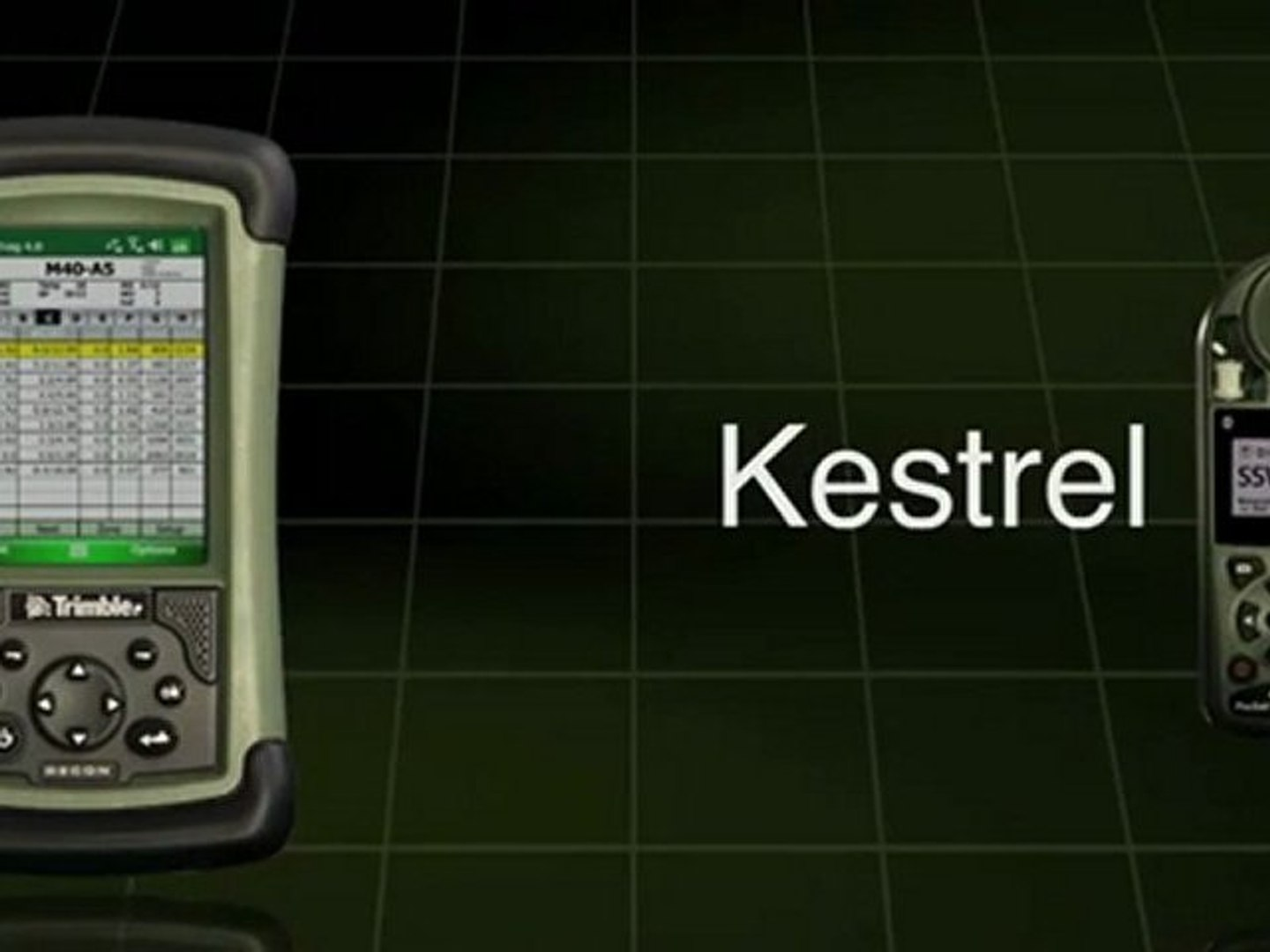 Balistic Calculator PDA – Horus and Kestrel, Together in O