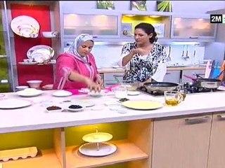 La cuisine marocaine Harcha meloui choumicha et bouchra recettes aid el kebir 2011