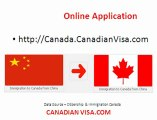 Canada Immigration China to Canada - Canadian Visa Services