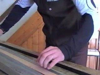 Fabrication de ski de fond