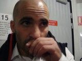 Interview Johann Authier après le match Oyonnax / Mont de Marsan Saison 2011/2012 PRO D2