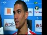 ■  Marseille - Ajaccio : » Interview Vidéo de Carl à la mi temps du match sur Foot+