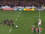 Le V de Vaillant face au Haka des All Blacks