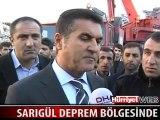 Mustafa Sarıgül Deprem Bölgesinde