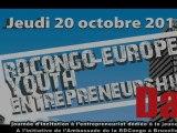 INTERVIEWS LORS DU RDC-EUROPE YOUTH ENTREPREUNERSHIP DAY à l'AMBASSADE