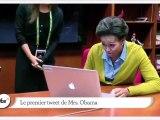 Zapping décalé : le premier tweet de Michelle Obama