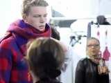 Behind the Scenes at the Louis Vuitton Men's Spring/Summer 2012 Show