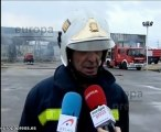 Los Bomberos controlan el fuego en Cuatro Vientos