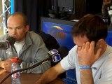 Erwan Le Roux et Didier Le Vourch, invités de France Bleu avant le départ de la Transat Jacques Vabre