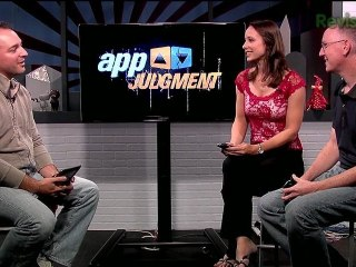 Cali Lewis and John P. of GeekBeat.TV Show Off Their iOS and Android Homepages! - AppJudgment