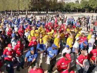 Flash Mob des 40 ans FFSA