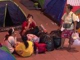 Thaïlande: des sinistrés à nouveau chassés par les inondations