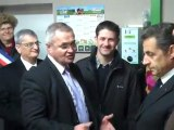 Sarkozy en visite dans la campagne alsacienne version courte