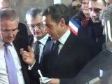 La visite de Sarkozy dans une ferme alsacienne version longue