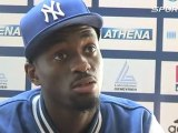 Interview Teddy Tamgho avant les Championnats d'Europe de Bercy