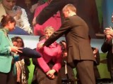 Nicole Lemétayer reçoit l'ordre du Mérite agricole du ministre