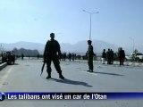 Attentat contre l'Otan à Kaboul: 17 tués, 13 soldats américains