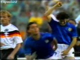 Germania Ovest-Italia 1-1 MANCINI, BREHME 1° turno Gruppo A Campionato Europeo 10-06-1988