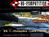 ES1 Rallye des Monts Dome 2011