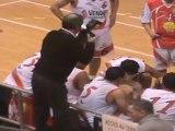 Challans - ADA Basket - QT1 - 5e journée de championnat de NM1 saison 2011-2012