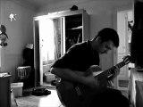 Vanessa Paradis & -M- - La Seine (Un Monstre A Paris) cover reprise guitare