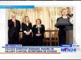Fallece Dorothy Rodham, madre de la secretaria de Estado estadounidense Hillary Clinton