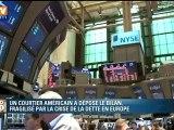 Un courtier américain est la première victime de la crise de la dette européenne