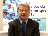 Assises du numérique 2010 - Guy ROUSSEL - Vice président du comité stratégique de la filière Services et Technologies de l'Information de la Communication, Vice-président  de la fondation Télécom