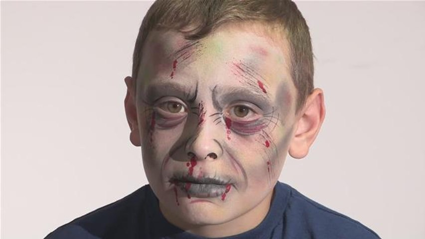 How To Do Zombie Face Paint