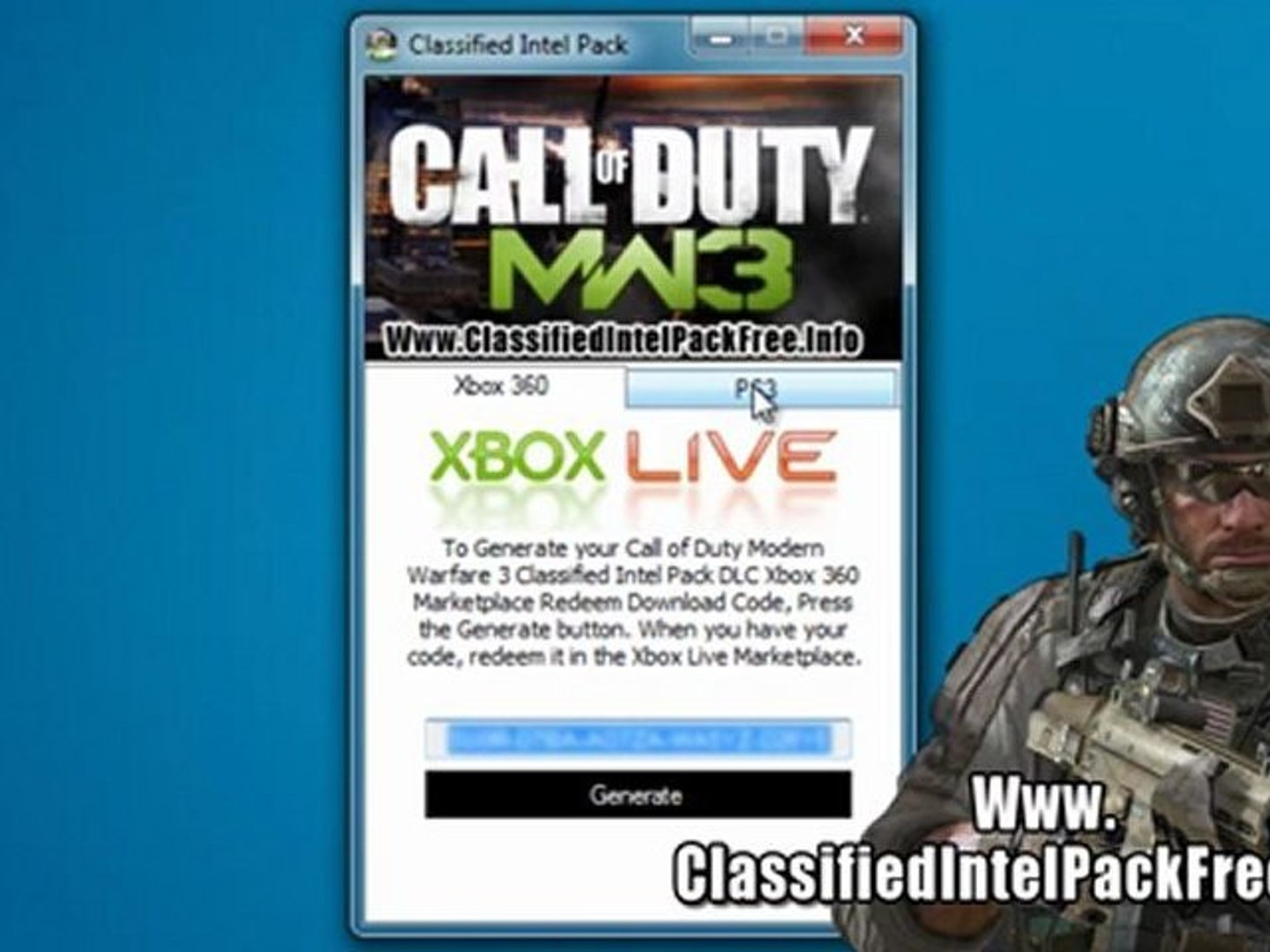 Get Free Call Of Duty Modern Warfare 3 Classified Intel Pack Dlc