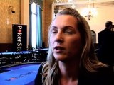 Katja Thate  KatjaThater  EPT S5 San Remo: Interview with Katja Thater Day 1a  - PokerStars.com