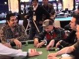 Greg Raymer fossilMan PokerStars Pro  APPT Seoul 08 Khan and Raymer.flv