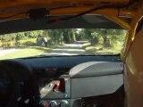 ES5 Sarrians équipage n°167 MALRIQ/DROUARD Fiat STILO A7 Rallye de Sarrians 2011