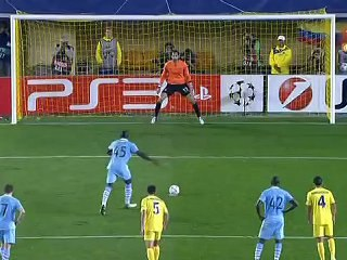 Villarreal 0-3 Manchester City