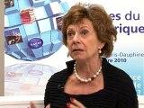 Assises du numérique 2010 - Neelie KROES - Commissaire europréen à la Stratégie numérique, vice-présidente de la commission