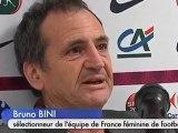 Foot Fém: France-Israël perturbé par des activistes (Troyes)